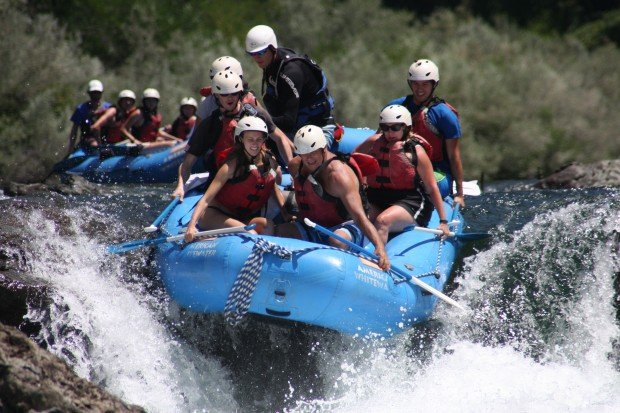 Conserve Your Summer Fun: Rafting Despite California's Water Drought